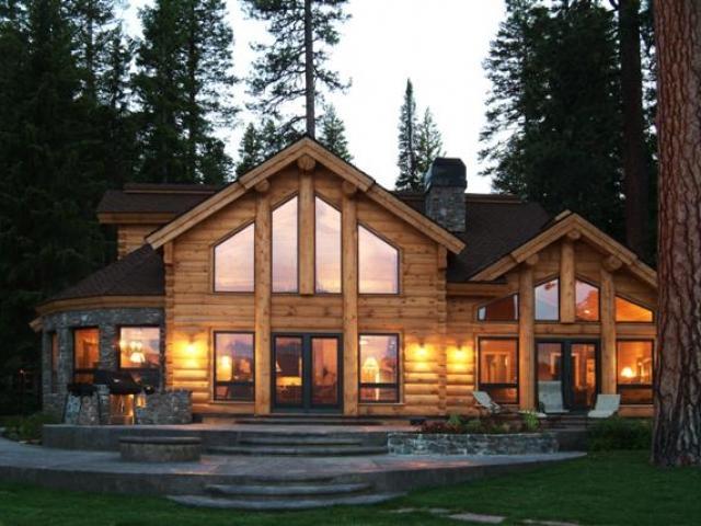 Tennessee Log Homes Wohnen